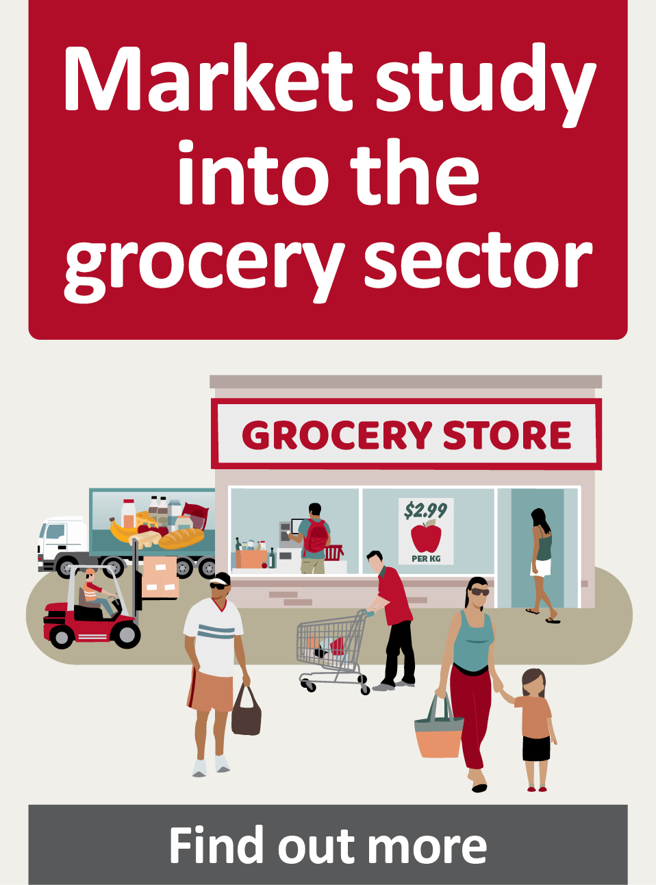 Market study into the grocery sector