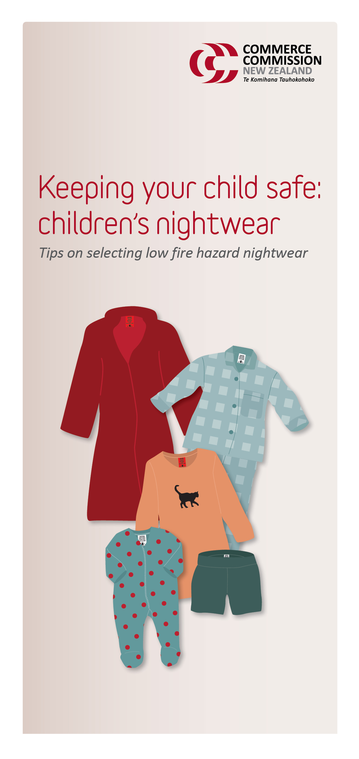 Keeping your child safe – children's nightwear