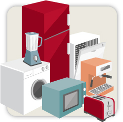Appliance and electronic purchases