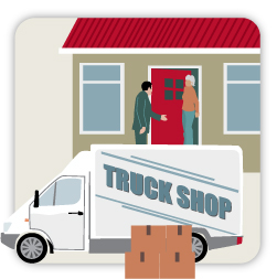 Mobile trading and door-to-door sales